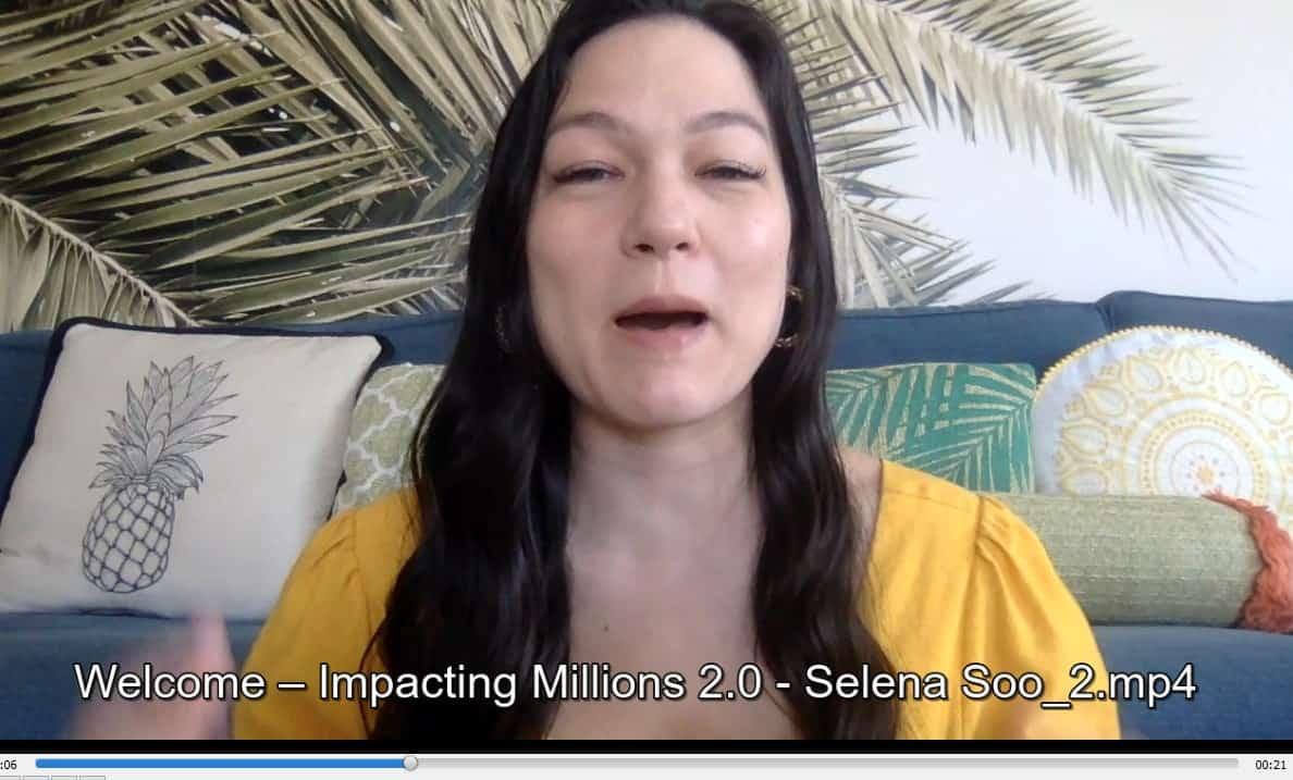 Impacting Millions 2021 by Selena Soo buy