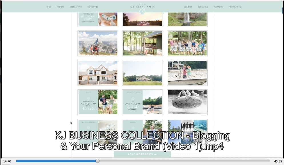 KJ Business Collection by Katelyn James discount