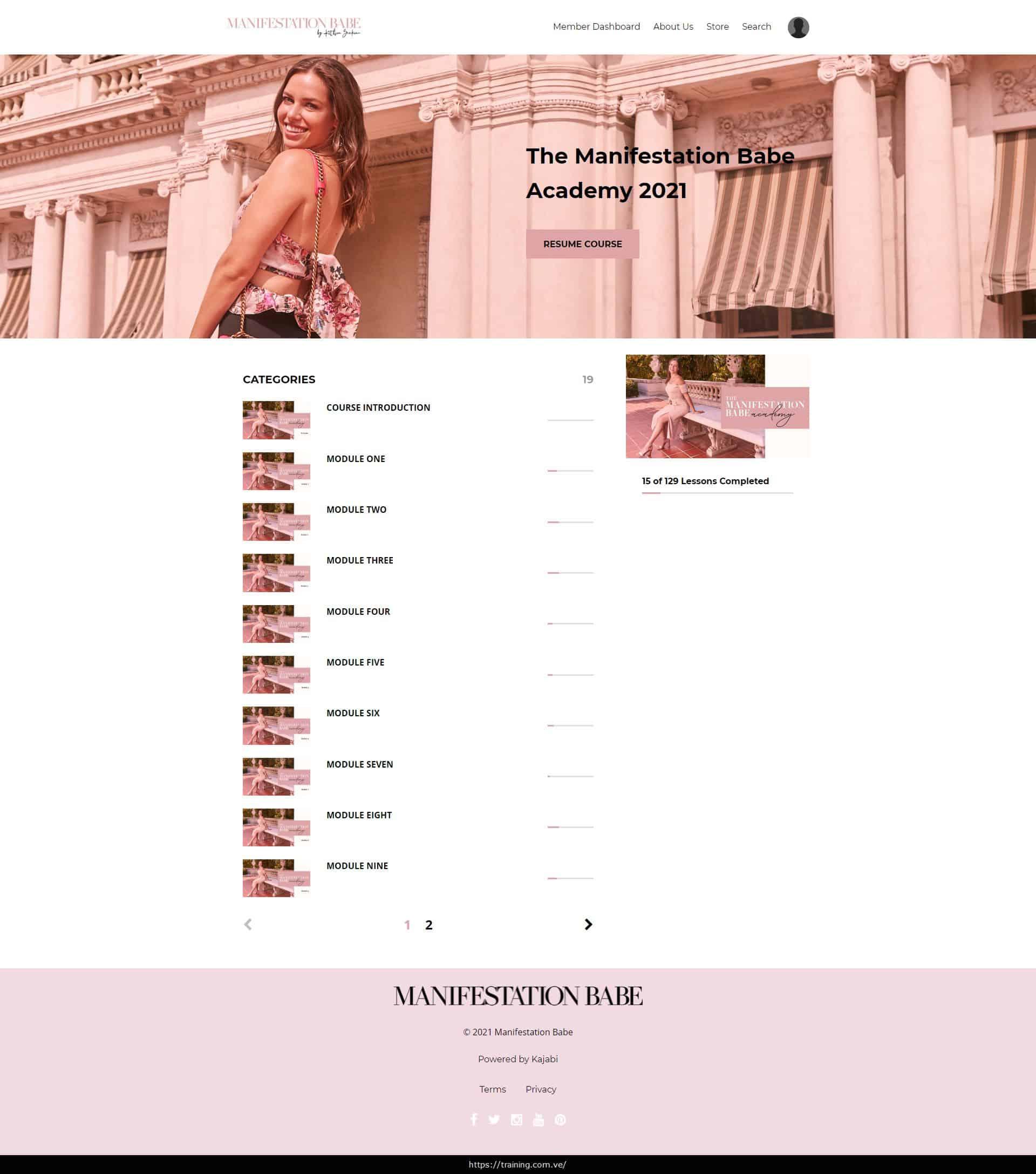 Manifestation Babe Academy 2021 by Kathrin Zenkina Download
