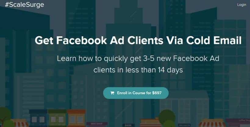Get Facebook Ad Clients Via Cold Email