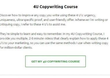 4U Copywriting Course by Ray Mondduke