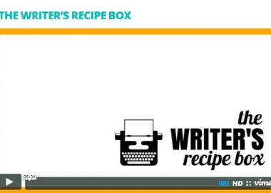 Writer's Recipe Box