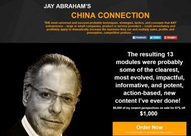 Jay Abraham's China Connection