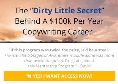 Lukas Resheske Copywriting Mentorship Program