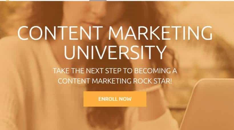 Content Marketing University by Joe Pulizzi Robert Rose