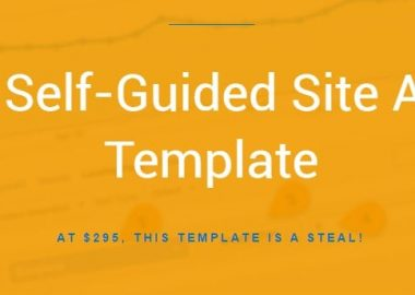 DIY Self-Guided Site Audit Template by Annie Cushing annielytics