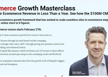 Ecommerce Growth Masterclass by Conversionxl and Drew Sanocki
