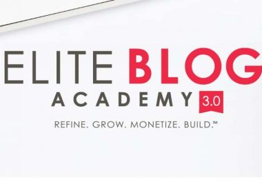 Elite Blog Academy 3.0 by Ruth Soukup