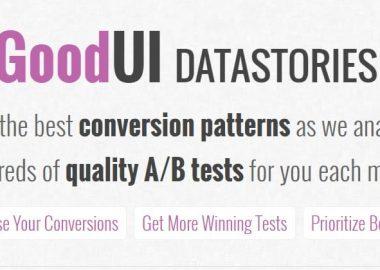 GoodUI DATASTORIES Updated March 2017