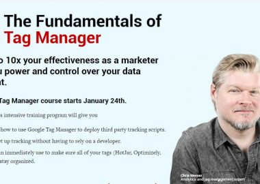 The Fundamentals of Google Tag Manager by Conversionxl and Chris Mercer
