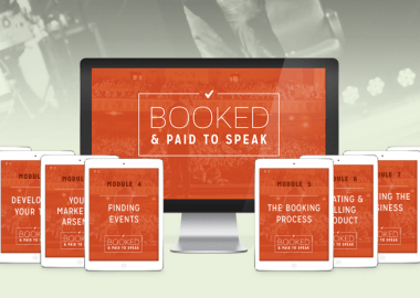 Booked & Paid to Speak 2.0 by Grant Baldwin