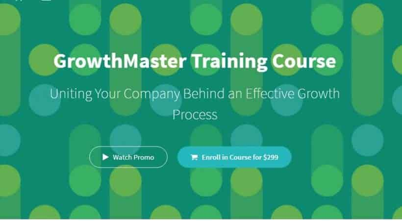 GrowthMaster Training Course By Sean Ellis Founder of GrowthHackers