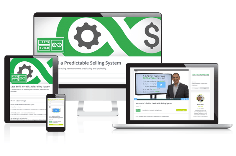 Let's Build a Predictable Selling System by Digitalmarketer