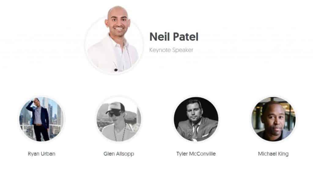 Neil Patel Advanced SEO Summit 2017 21Gb of content