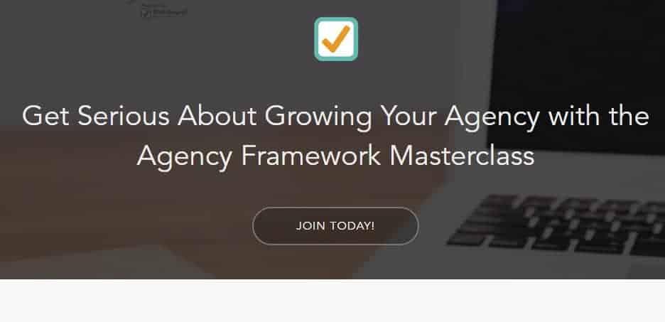 Agency Framework Masterclass By Andrew Dymski