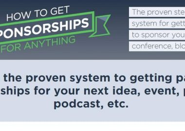 How To Get Sponsorships For Anything by Jason Zook