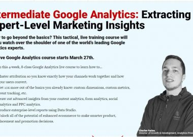 Intermediate Google Analytics by conversionxl