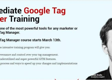 Intermediate Google Tag Manager Training by Conversionxl