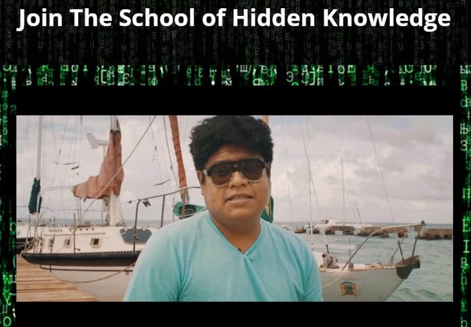 School of Hidden Knowledge by Ronnie Sandlin