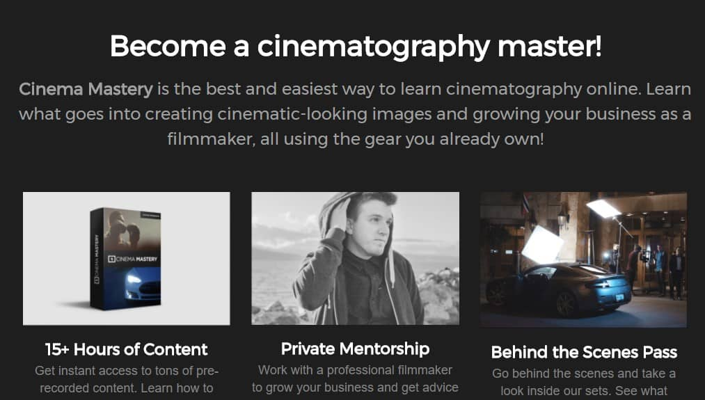 Cinema Mastery by Eric Thayne