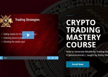 Crypto trading mastery course by Rocky Darius