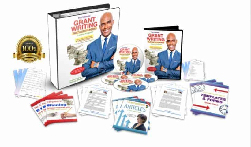 Grant Writing That Gets Funded Training Program by Rodney Walker(Deluxe)