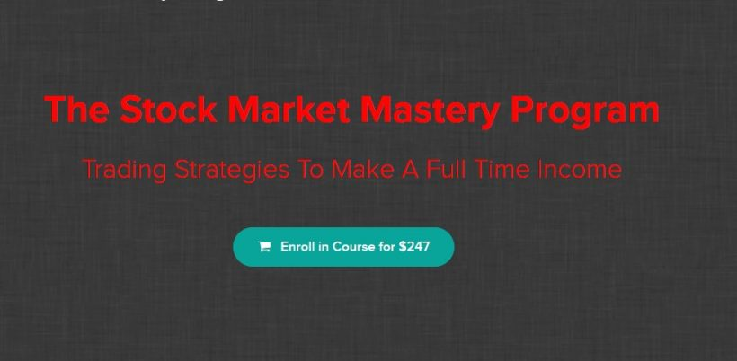 The Stock Market Mastery Program by Ryan Hildreth