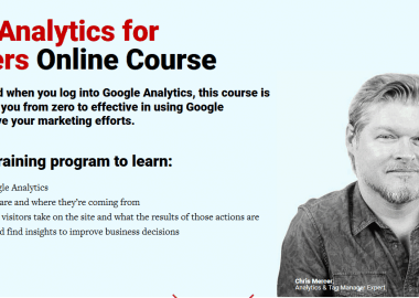 Google Analytics for Beginners by Conversionxl and Chris Mercer