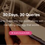 30 Days, 30 Queries by Mridu Khullar Relph