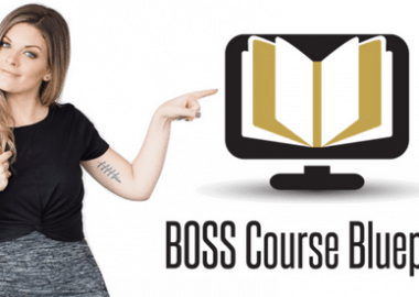 BOSS Course Blueprint Masterclass by Sunny Lenarduzzi