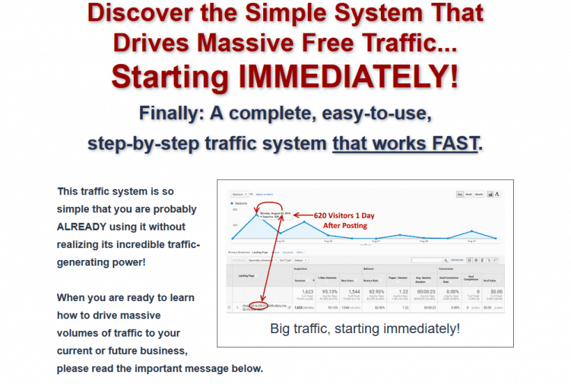 Instant traffic formula by Seth Young