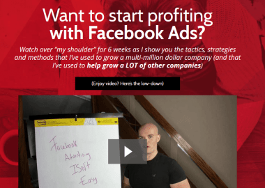 Leadcraft Masterclass: Facebook by Scott Oldford