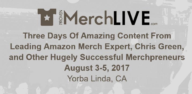 Proven Merch Live 2017