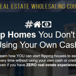 Real Estate Wholesaling Course by Secret Entourage