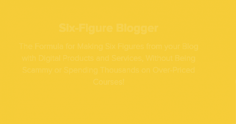 Six-Figure Blogger by Alex Nerney & Lauren McManus