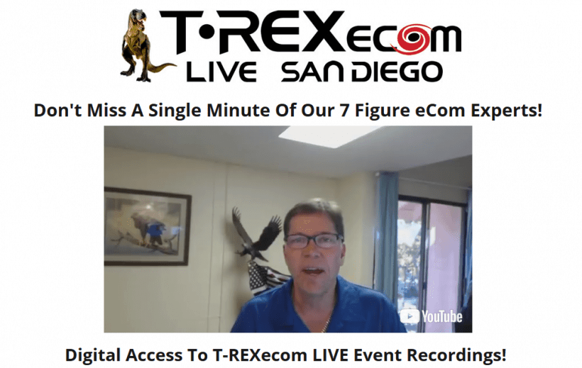 T-REXecom LIVE San Diego June 22-24 2017 - Event Recordings