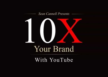 10X Your Brand With YouTube by Sean Cannell
