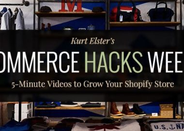 Ecommerce Hacks Weekly By Kurt Elster (50 videos)