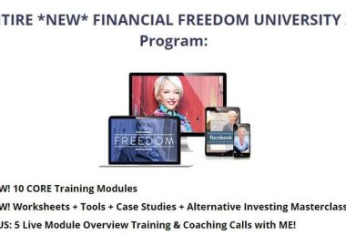 Financial Freedom University 2.0 By Ann Wilson