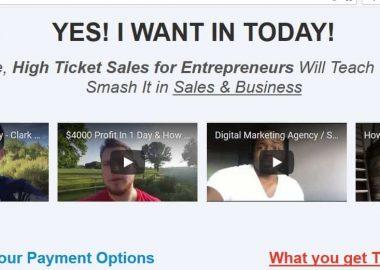 High Ticket Sales for Entrepreneurs by Carradean Farley