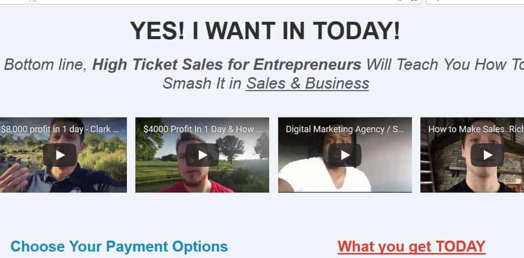 High Ticket Sales for Entrepreneurs by Carradean Farley