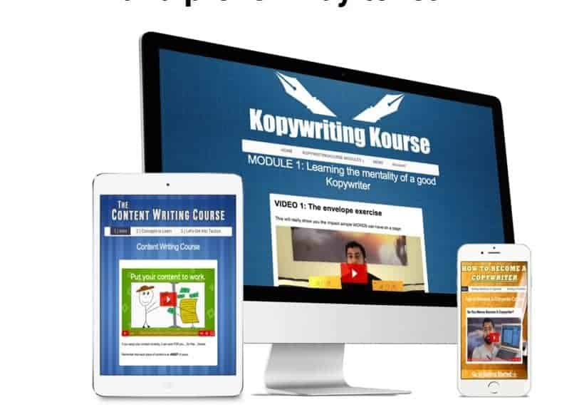 Kopywriting Bundle: Course Package by Neville Medhora