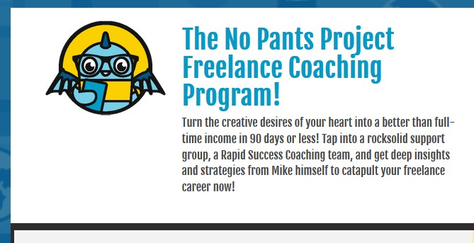 The No Pants Project Program by Michael Shreeve