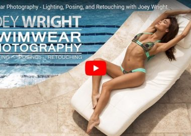 Joey Wright Swimwear Photography Lighting, Posing, and Retouching