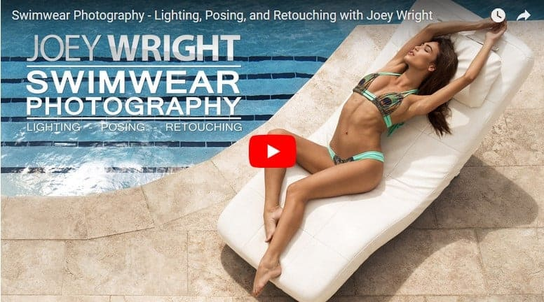 Joey Wright Swimwear Photography Lighting, Posing, and Retouching
