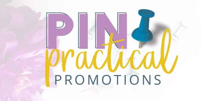 Pin Practical Promotions by Monica at Redefining Mom