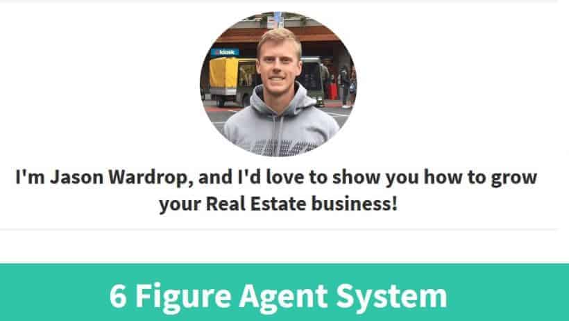 6 Figure Agency Consulting Blueprint Real Estate Marketing Jason Wardrop