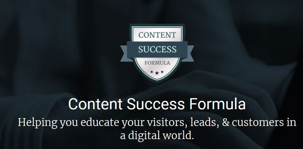 Content Success Formula by Marcus Sheridan
