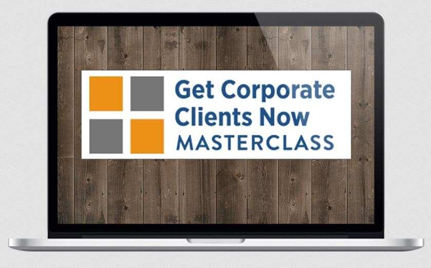 Get Corporate Clients Masterclass by Jeanine Blackwell