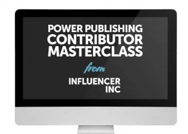 Power Publishing Contributor Masterclass by Josh Steimle